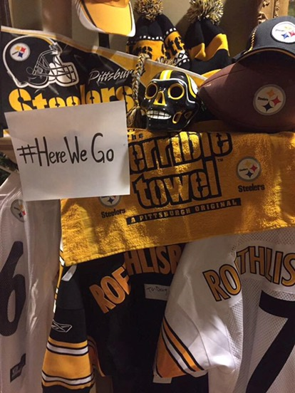 When you ask for Steelers support…..